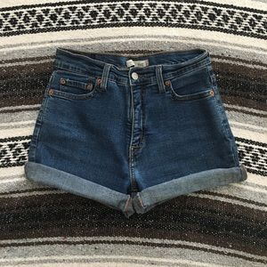 Vintage High Waisted Levi's Shorts
